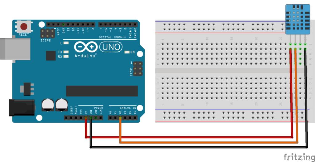 DHT11 com arduino
